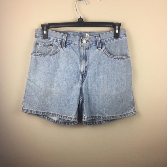 7e2772c8e0 Levi's Shorts | Vintage Levis 555 Guy Fit Jean | Poshmark